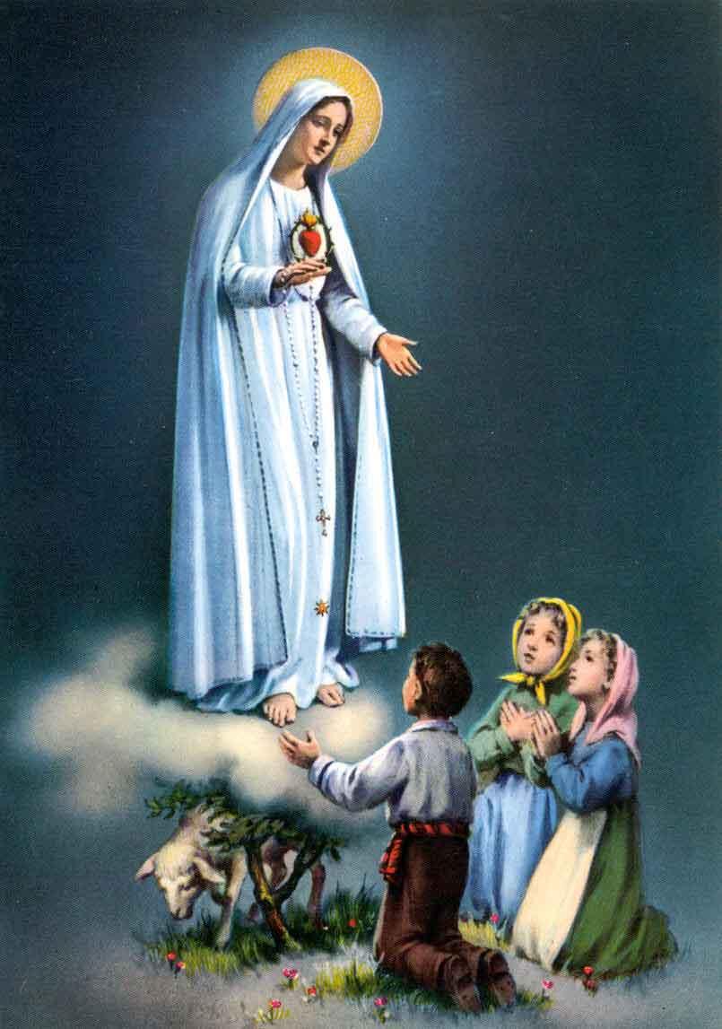 Imagenes de la Virgen de Fatima - santos-catolicos.com
